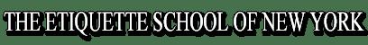 etiquette school logo