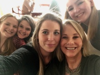 My beautiful daughter and nieces, (L to R) Gracie, Caro, Posey, and Lizzie.