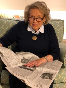 At 88, my mom, still a beauty