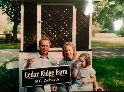 The day we bought the farm, August 1st, 1995