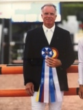 Michael, a equestrian show jumper, has a nice win!