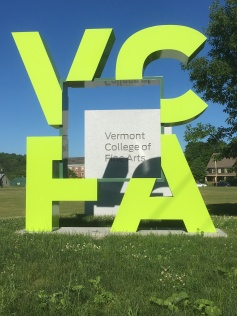Vermont College of Fine Arts where I attended Grad school.
